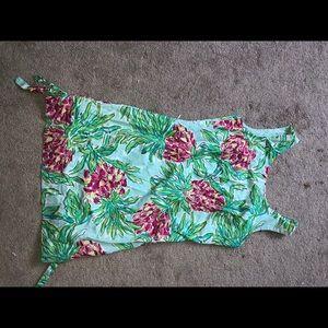 Lilly Pulitzer green dress print